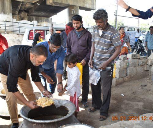Lunch at Dabeerpura
