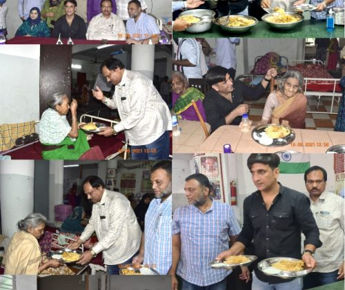 Lunch Program at Fatima Old Age Home